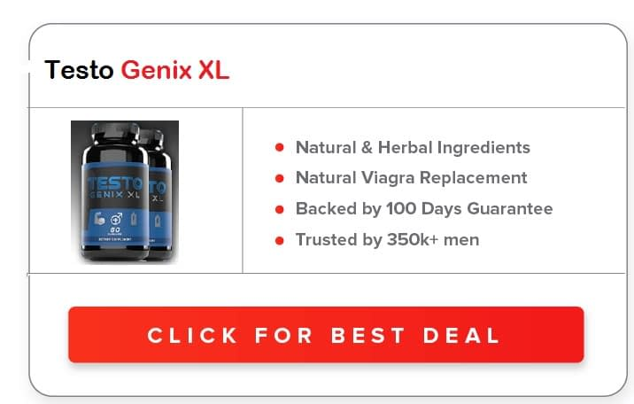 Testo Genix XL Testosterone Booster