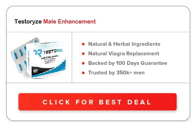 Testoryze Male Enhancement Pills
