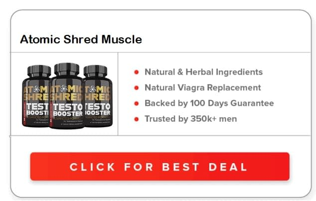 Atomic Shred Muscle Boost Pills