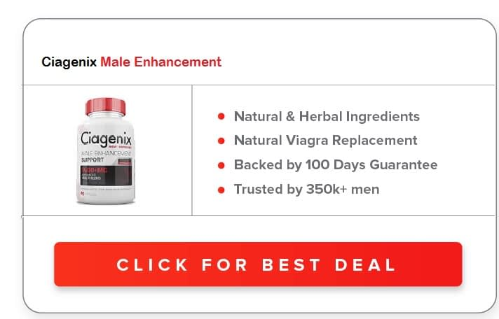Ciagenix Male Enhancement Pills
